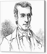 James K. Polk (1795-1849) Canvas Print