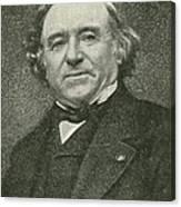 Jean Baptiste Dumas, French Chemist Canvas Print