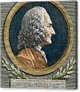 Jean Philippe Rameau Canvas Print