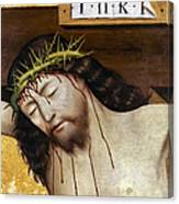 Jesus: Crucifixion Canvas Print