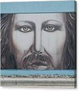 Jesus On The Street Canvas Print