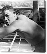 Joe Louis (1914-1981) Canvas Print