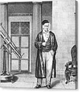 Johann Carl Friedrich Gauss, German Canvas Print