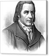 Johann Heinrich Pestalozzi, Swiss Canvas Print