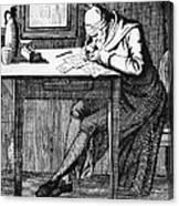 Johann Kaspar Lavater Canvas Print