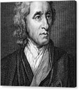John Locke, English Philosopher, Father Canvas Print