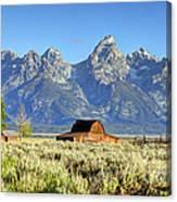 John Moulton Barn - Grand Teton National Park Canvas Print