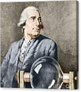 Joseph-michel Montgolfier, French Canvas Print