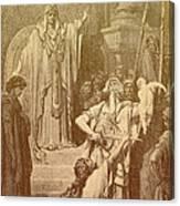 Judgment Of Solomon Canvas Print