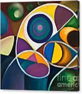 Juego Geometrico Canvas Print