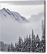 Kananaskis Country In Winter, Peter Canvas Print