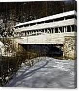 Knox Covered Bridge Canvas Print