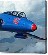 L-29 Delfin Standard Jet Trainer Canvas Print