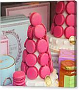 Laduree Macarons Canvas Print