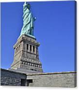 Lady Liberty 12 Canvas Print