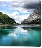 Lago Fedaia Canvas Print