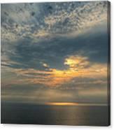 Lake Michigan Sunset Canvas Print