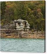 Lake Superior Pictured Rocks 49 Canvas Print