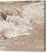 Lake Waves Canvas Print