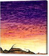 Landscrape Canvas Print