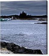 Late October In Blue Rocks Canvas Print