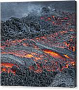 Lava Flow On The Flank Of Pacaya Canvas Print