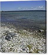 Leelanau Michigan Beach Canvas Print