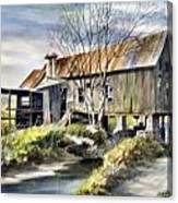 Levy Deas Grist Mill  Sold Canvas Print