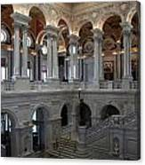 Library Of Congress - Washington D C Canvas Print