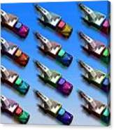 Line Truckin Canvas Print