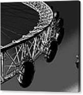London Eye Digital Image Canvas Print