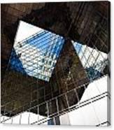 London Southbank Abstract Canvas Print