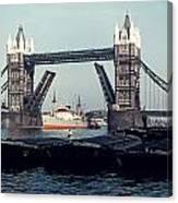 London Tower Bridge Canvas Print