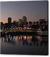 Long Beach Harbor Canvas Print