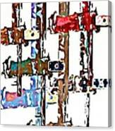 Long Locks Canvas Print