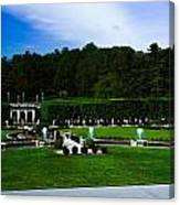 Longwood Gardens Fountain Garden Canvas Print