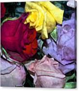 Look Of Romance Canvas Print