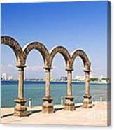 Los Arcos Amphitheater In Puerto Vallarta Canvas Print
