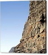 Los Gigantes Cliffs Canvas Print