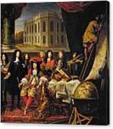 Louis Xiv (1638-1715) Canvas Print