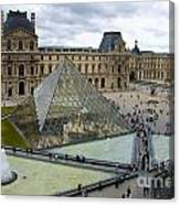 Louvre Museum. Paris Canvas Print