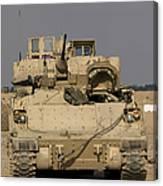 M2m3 Bradley Fighting Vehicle Canvas Print