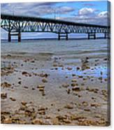 Mackinac Bridge Canvas Print