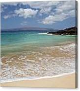 Makena Ocean And Sand Canvas Print