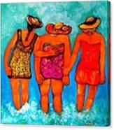 Mamas New Hat Canvas Print