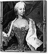 Maria Theresa (1717-1780) Canvas Print