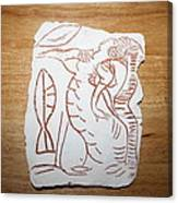 Market Seller 3 Canvas Print