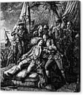 Marquis De Montcalm Canvas Print