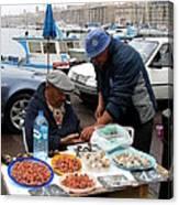 Marseilles Fishermen Canvas Print