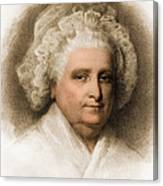 Martha Washington, American Patriot Canvas Print